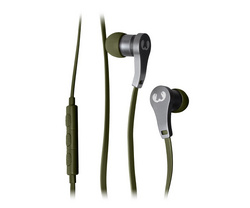 Lace In Ear Headphones - Army