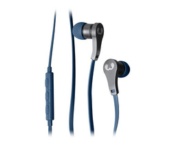 Lace In Ear Headphones - Indigo