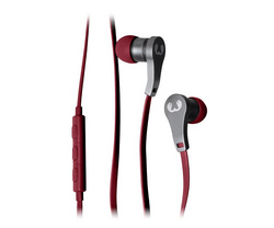 Lace In Ear Headphones - Ruby