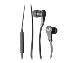 Lace In Ear Headphones - Concrete
