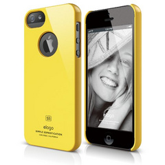 Elago S5 Slim Fit Case for iPhone 5/5s/SE - Sport Yellow