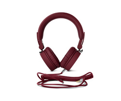 Caps On Ear Headphones - Ruby