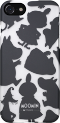 Moomin Back Cover Case (Black Shadows) - iPhone 7/8