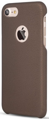 Premium PU Leather Ultra Thin Protective Skin Cover - Brown