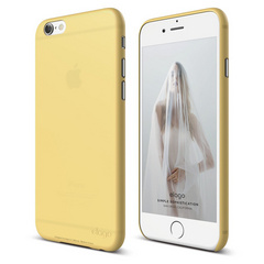 Elago S6 Inner Core Case for iPhone 6/6s - Creamy Yellow