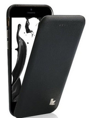 Leather Flip Case - Black