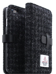 D5 Harris Tweed Edition Case - Black  (iPhone 6/6s)