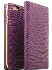 D3 Lizard Leather Case - Purple