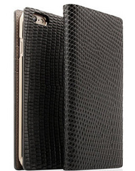 D3 Lizard Leather Case - Black