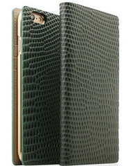 D3 Lizard Leather Case - Green