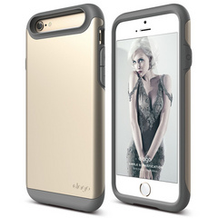 S6 Duro Case - Dark Gray / Champagne Gold