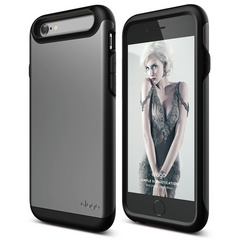 S6 Duro Case - Dark Gray / Metallic Dark Gray