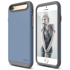 S6 Duro Case - Dark Gray / Royal Blue