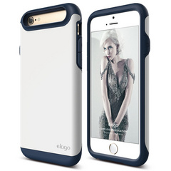 S6 Duro Case for iPhone 6/6s - Jean Indigo / White