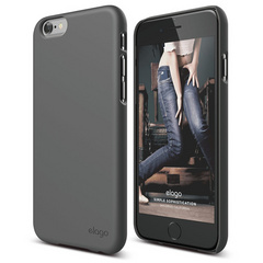 S6 Slim Fit 2 Case - Dark Grey