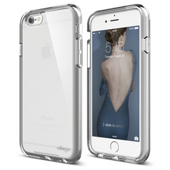 S6 Flex Core Case for iPhone 6/6s - White