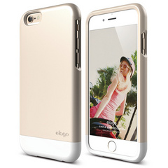 S6 Glide for iPhone 6 only - Champagne Gold / White