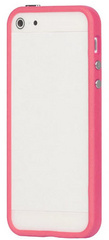 id America Cushi Band Frame Case for iPhone 5/5s/SE - Pink