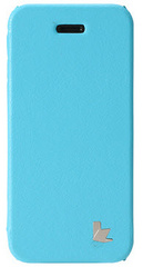 Jison Case Fashion Folio Case for iPhone 5/5s/SE - Blue