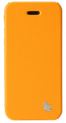 Jison Case Fashion Folio Case for iPhone 5/5s/SE - Orange