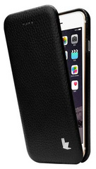 Jison Case Premium Leatherette Case for iPhone 5/5s/SE - Black