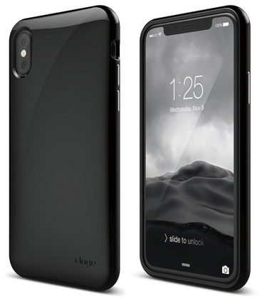 Elago Cushion for iPhone Xs - Black