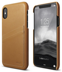 Elago Genuine Leather for iPhone Xs - Brown