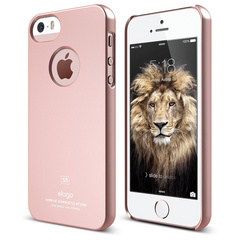 Elago S5 Slim Fit Case for iPhone 5/5s/SE - Rose Gold