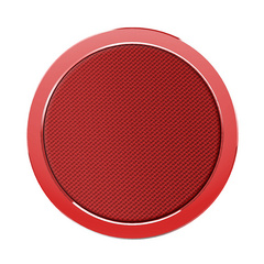 Rock W4 Quick Wireless Charger Aluminium & Fabric - Red