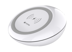 Devia Wireless Charging Pad - White