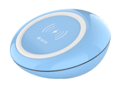 Devia Wireless Charging Pad - Blue