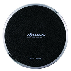 Nillkin Leather Wireless Fast Charging Pad - Black