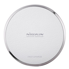Nillkin Leather Wireless Fast Charging Pad - White