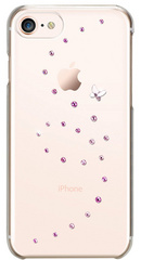 BMT Papillon Rose Sparkles case for iPhone 8/SE2