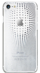 BMT Warp Deluxe case for iPhone 8 - Silver/Crystals