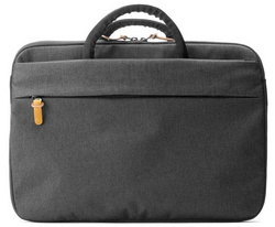 "Booq Superslim 13"" bag - Black/Tan"