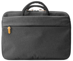 "Booq Superslim 15"" bag - Black/Tan"