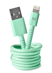 Fresh 'n Rebel Fabriq Lightning Cable Peppermint - 1.5m/3m