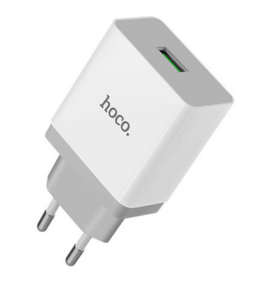 Hoco USB Wall Charger 3.0A Qualcomm® - Quick Charger