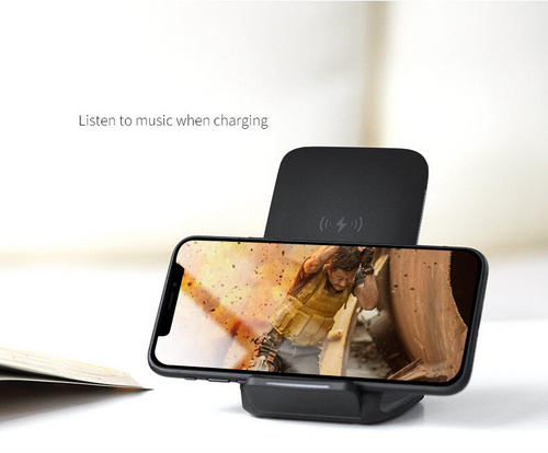 Rock W3 LED Charging Stand - Black
