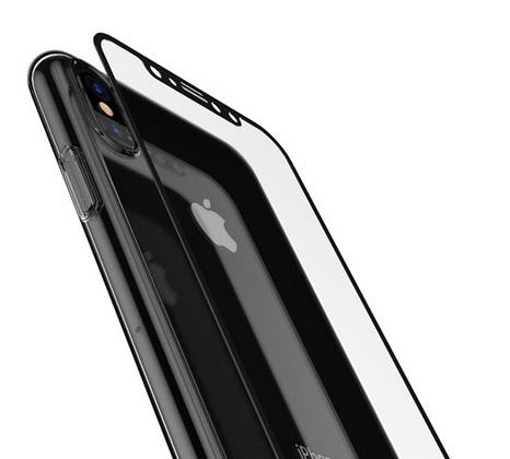 Comma Hard Jacket Case for iPhone X/Xs - Transparent