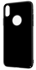 Comma Crystal Shining Case for iPhone X - Black