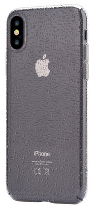 Devia Amber Case for iPhone X - Smoky Black