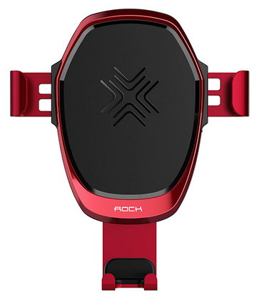 Rock Gravity Wireless Car Charger 10W - Red