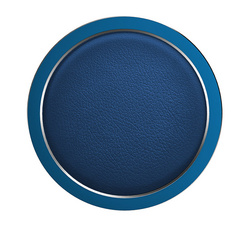Rock W4 PRO Wireless Charger Aluminium & Leather - Blue