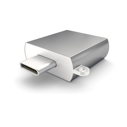 Satechi Type-C - Type A USB Adapter - Space Gray