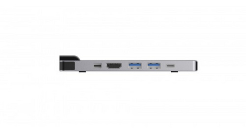 LMP USB-C Compact Dock 8 Ports - Space Gray