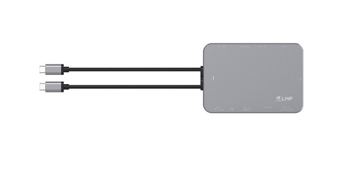 LMP USB-C Compact Dock 10 Ports - Space Gray