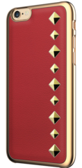 Occa Stark Leather Collection for iphone 6/6S - Red