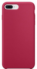 Original Silicone Case for iPhone 7/8 Plus - Rose Red